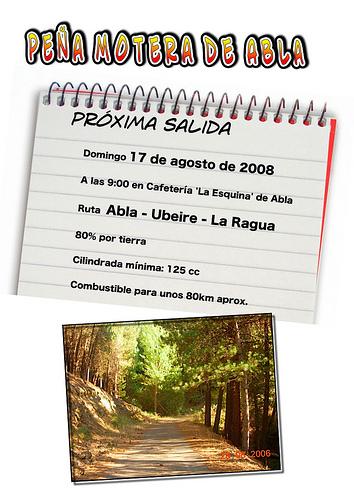 Salida motera 17 de agosto Abla - La Ragua - Abla por ablaeninternet.